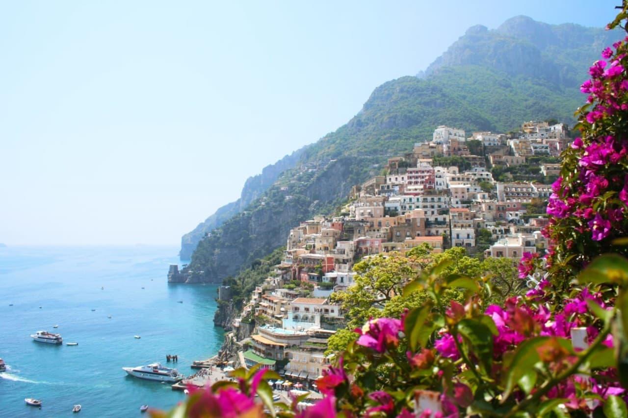 поддержки туловища амальфитанское побережье италии фото живёшь ярко живешь