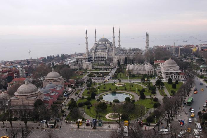 Погода в Стамбуле в сентябре - Район Султанахмет
