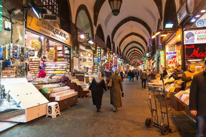 Стамбул, Восточный базар