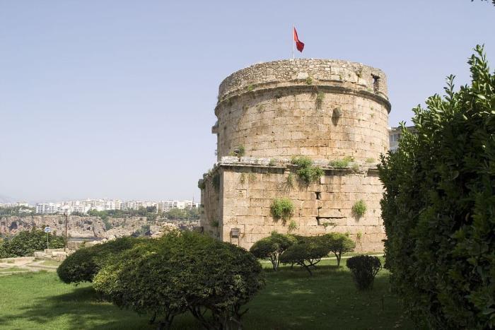 Анталия, Башня Хыдырлык