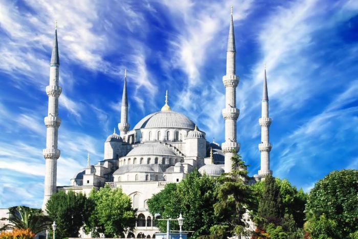 Погода в Стамбуле в ноябре - Голубая мечеть