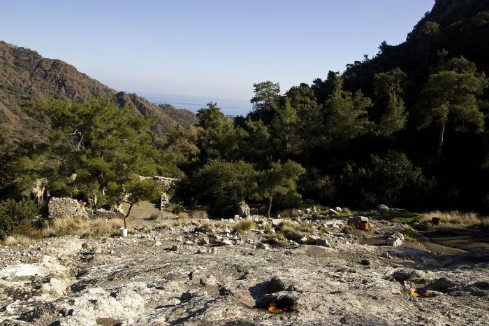 Что посмотреть в Кемере в октябре, гора Янарташ