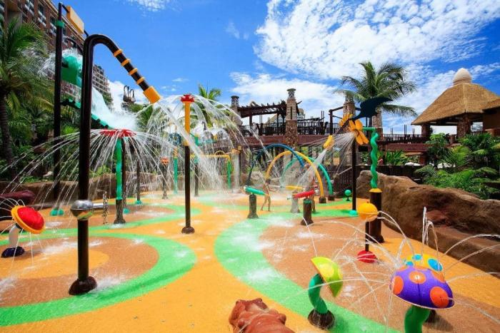 отдых с детьми, Паттайя, аквапарк