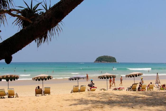 Паттайя, пляж Донгтан