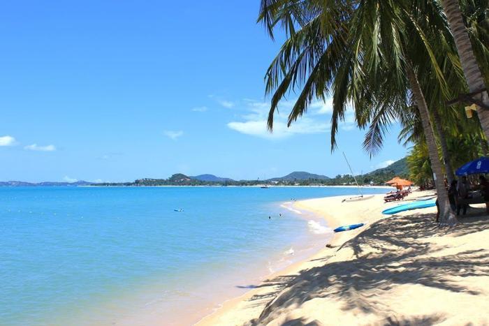 Погода на Самуи в январе - Пляж Банг По