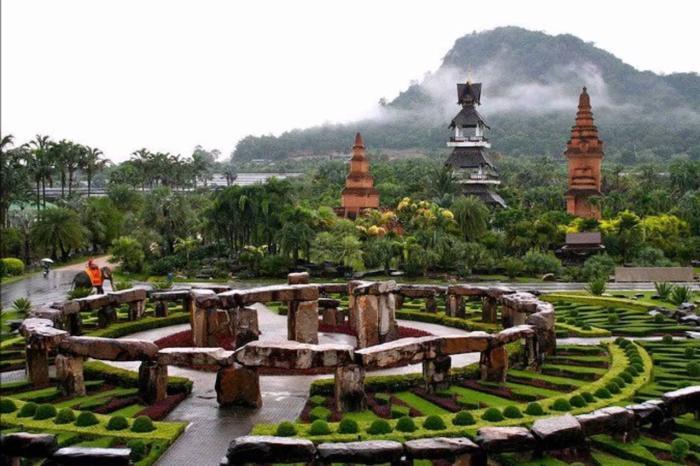 Паттайя, Тропический парк Нонг Нуч