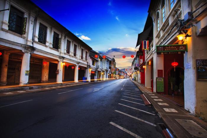Пхукет, Old Phuket Town