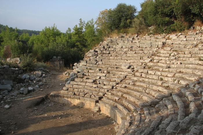 Кемер, Древний античный город Фаселис