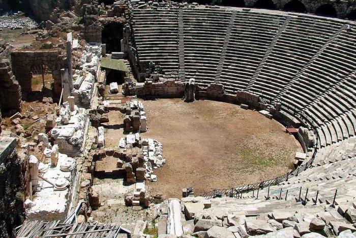 Сиде для детей, Древний город Сиде