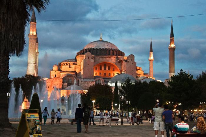 Стамбул, Айя-София (Собор Святой Софии)