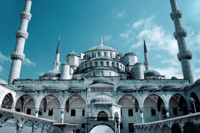 Погода в Стамбуле в июне - Голубая мечеть