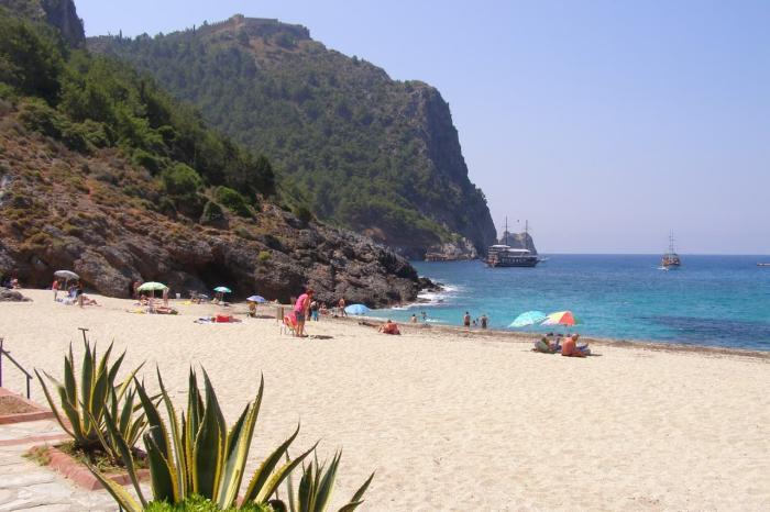 Погода в Аланье в декабре - Пляж Клеопатра