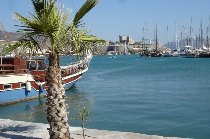 Погода в Сиде в декабре - Яхты в порту