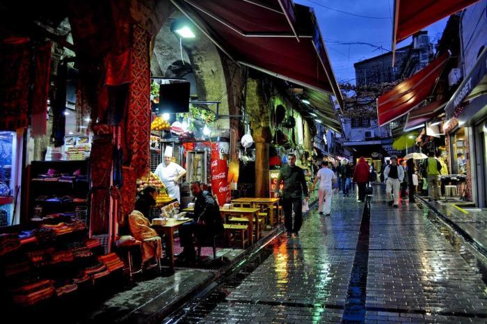 Стамбул, Торговая улочка