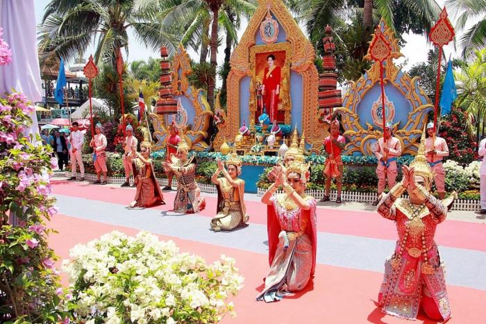 Чем заняться на Паттае в августе. день рождения королевы Сирикит.