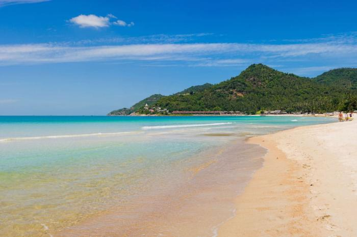 Погода на Самуи в августе - Пляж Чавенг