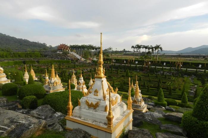 Таиланд Паттайя Тропический парк Нонг Нуч
