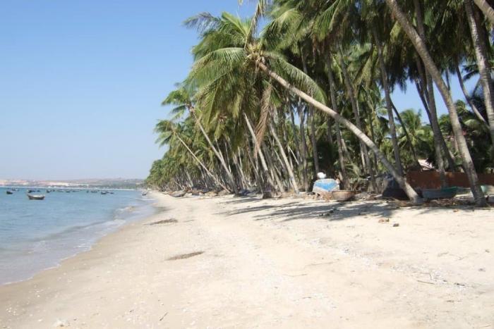 Фантхиет, Пляж Муйне