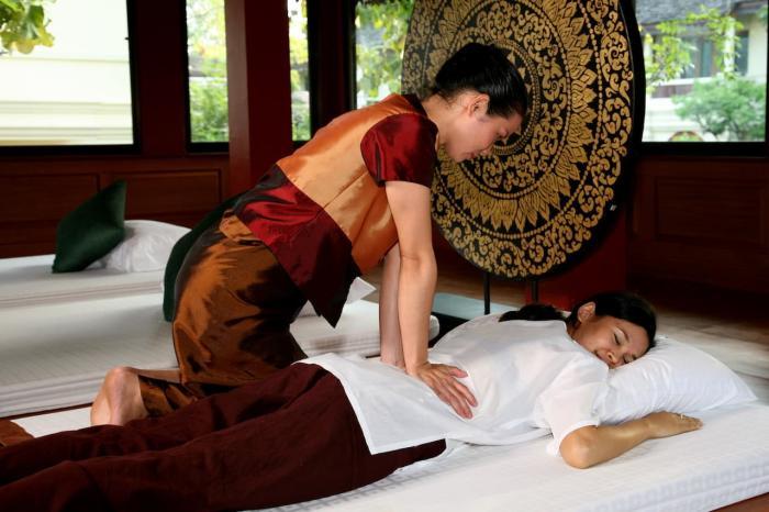 Чем заняться на Пхукете в марте, Тайский массаж
