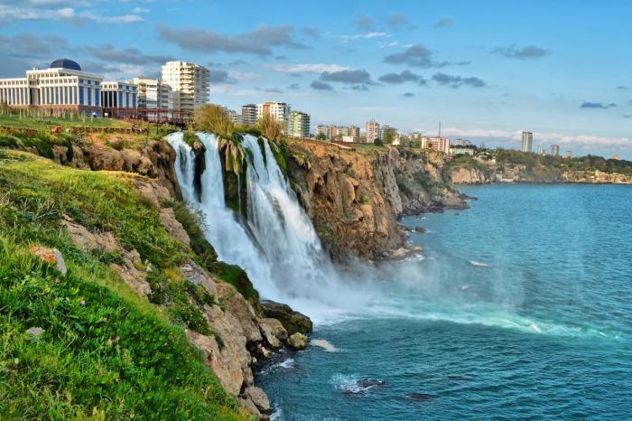 Анталия Дюденские водопады