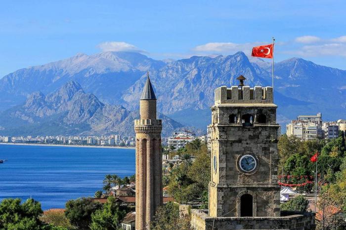 какая погода в сентябре в Турции Анталия