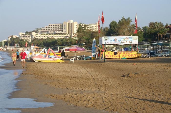 Чем заняться в Сиде, Пляжи