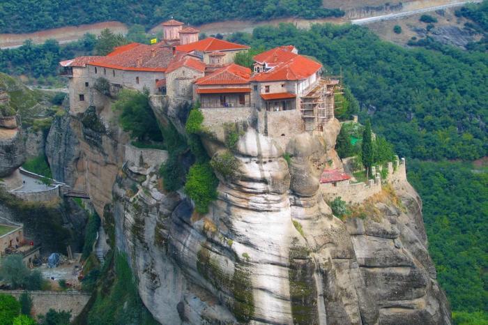 Халхидики, Парящие Монастыри Метеоры
