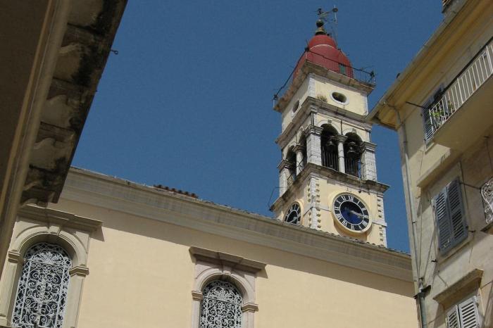 Корфу, Собор Святого Спиридона