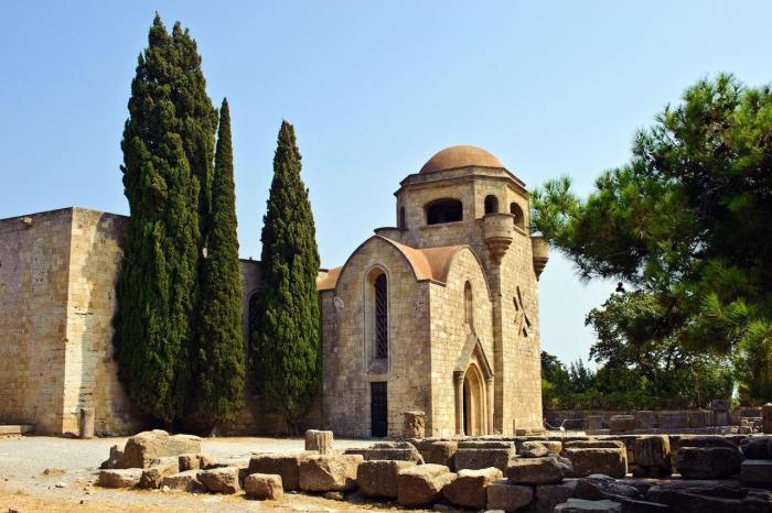 Родос, Монастырь Филеримос