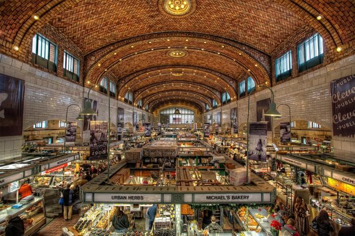 Сиде шопинг, рынок
