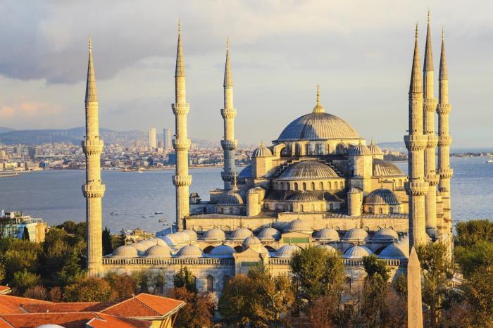 Стамбул архитектура