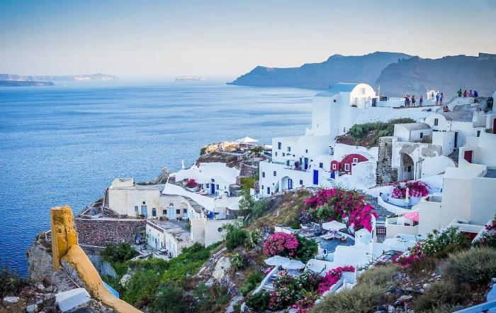 Погода в Греции весной