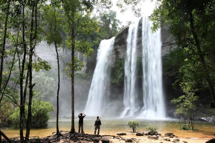 Что посмотреть, Водопад в парке Као Пра Тэо