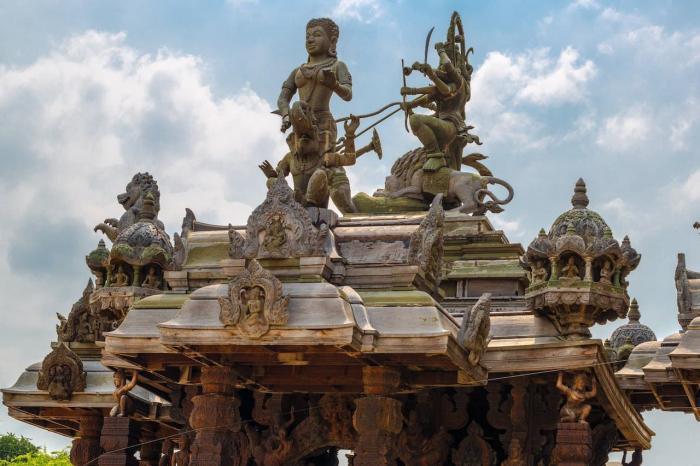 Погода в Паттайе в июле - Храм истины