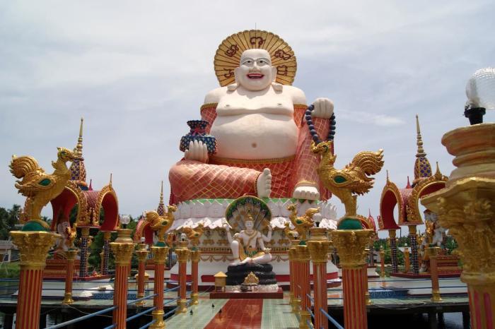 Погода на Самуи в июле - Wat Plai Laem
