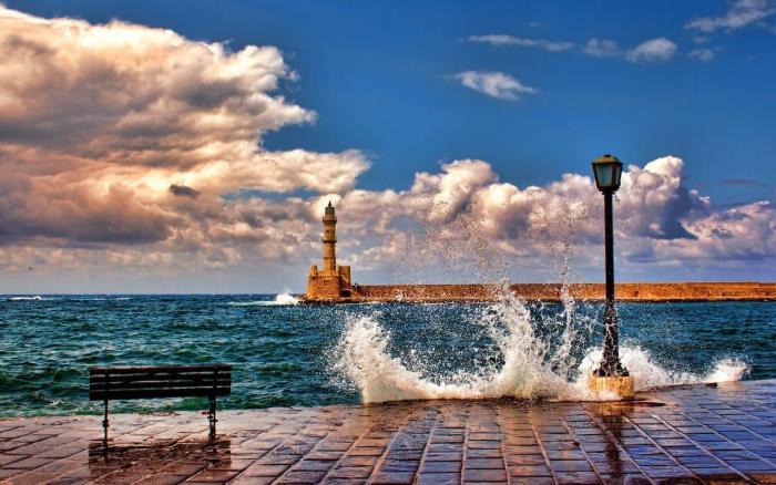 Погода на Крите зимой