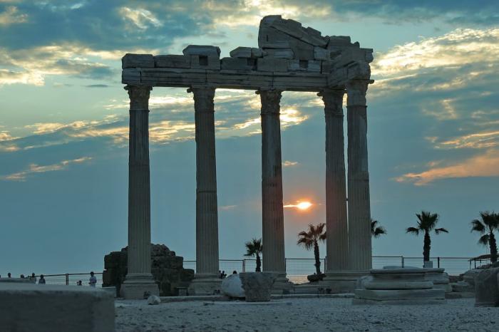 Сиде Храм Apollo's Temple