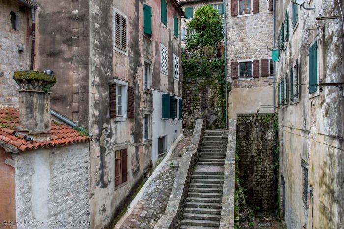 Черногория, Котор старый город