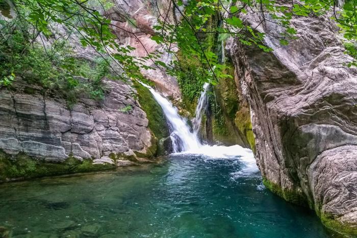 Черногория, водопад Монтенегро