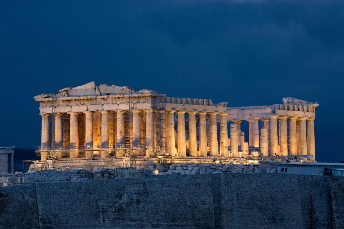 Греция, Парфенон
