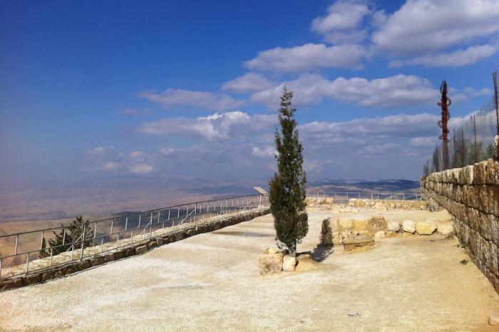 Иордания, Гора Неба