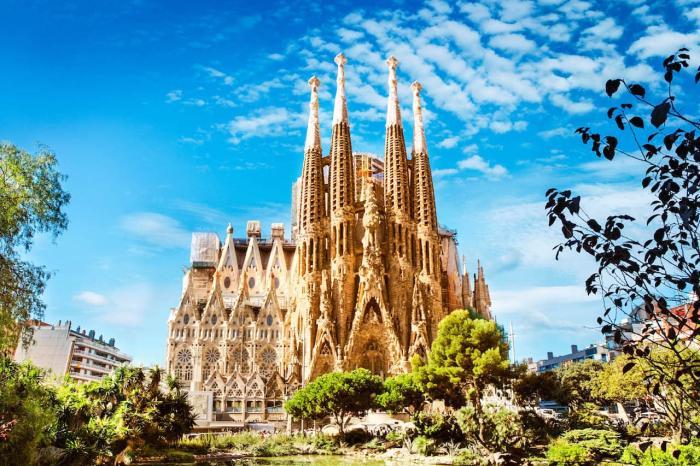Испания, Саграда Фамилиа