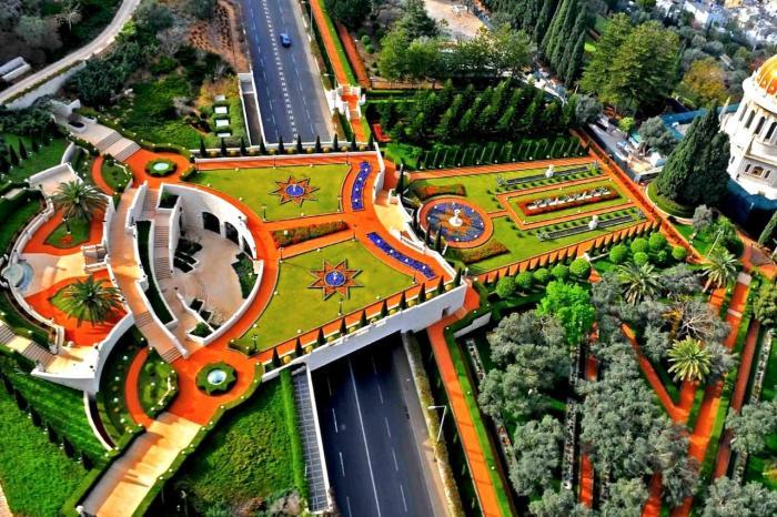 Израиль, Бахайские сады