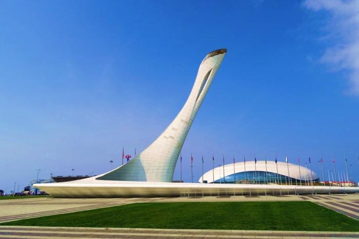 Сочи, Олимпийский факел