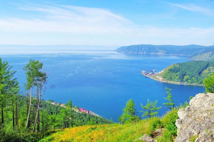 Байкал, Вид со смотровой площадки