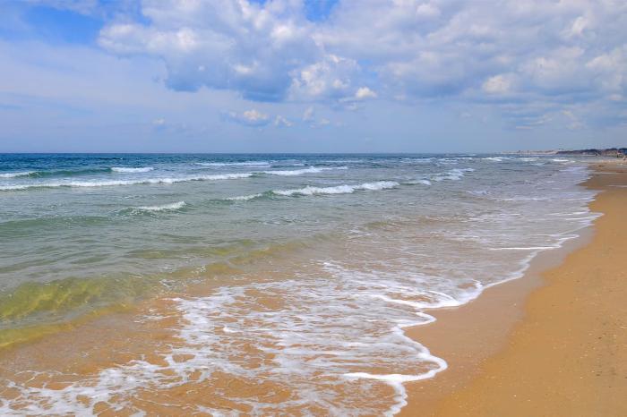 Ейск, Песчаные пляжи