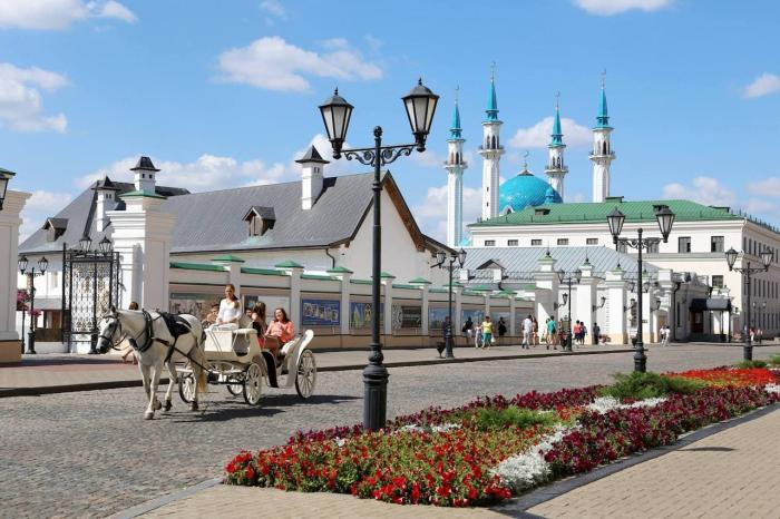 Казань, Прогулка по Кремлю