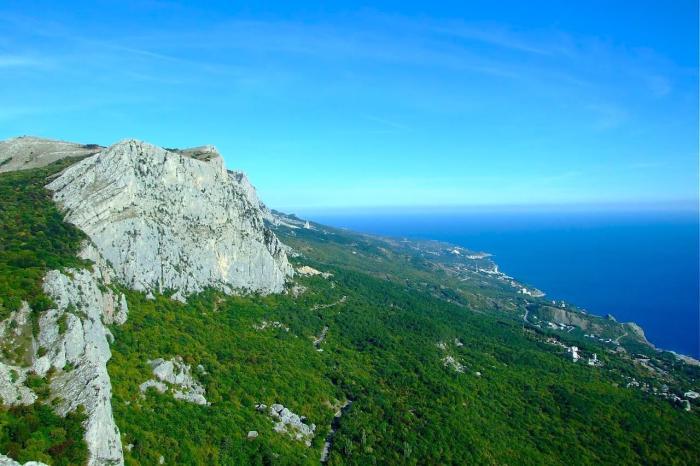 Крым, Поднимитесь в горы