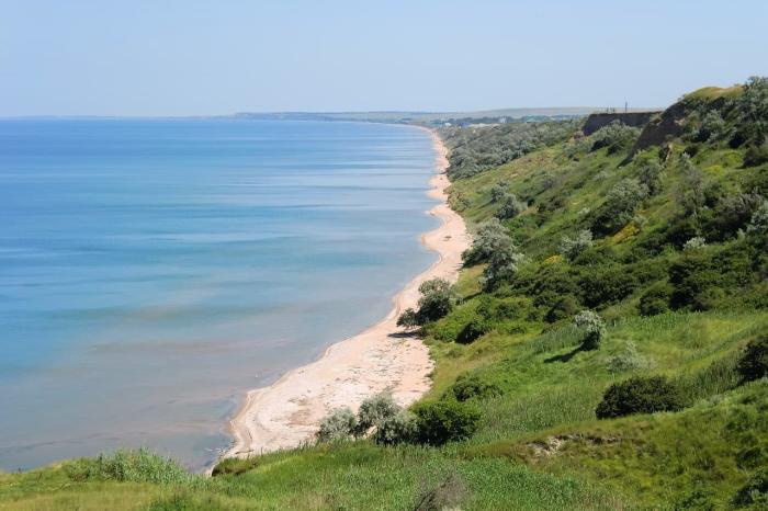 Кучугуры, Дикие пляжи