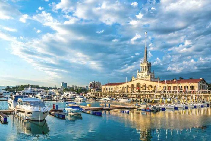 Сочи, Морской порт